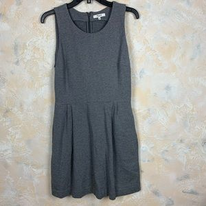 Madewell Sheath Dress Gray